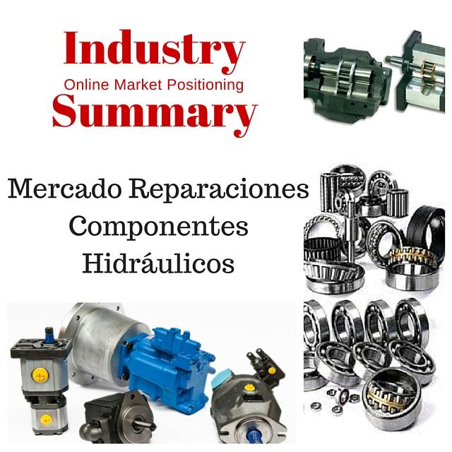 ISMP Informe Posicionamiento sectorial Reparaciones Componentes Hidráulicos